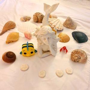 Mermaid & Shell Home Decor